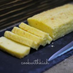 Saffron Pound Cake